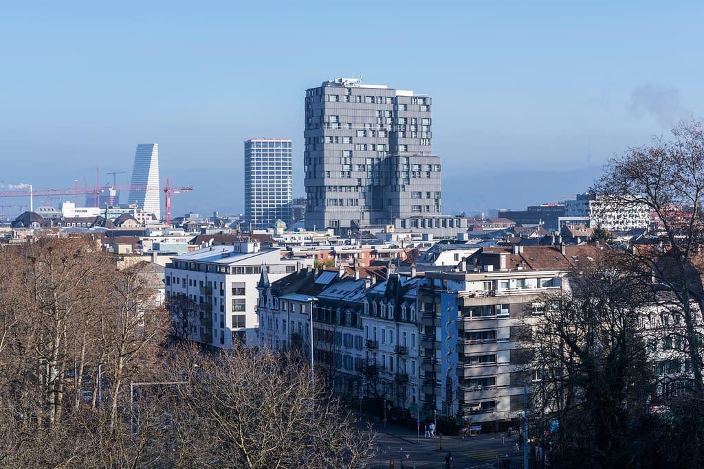 Meret Oppenheim Tower, Basel, aufgenommen am 05.12.2019 (SBB/Christian Beutler)